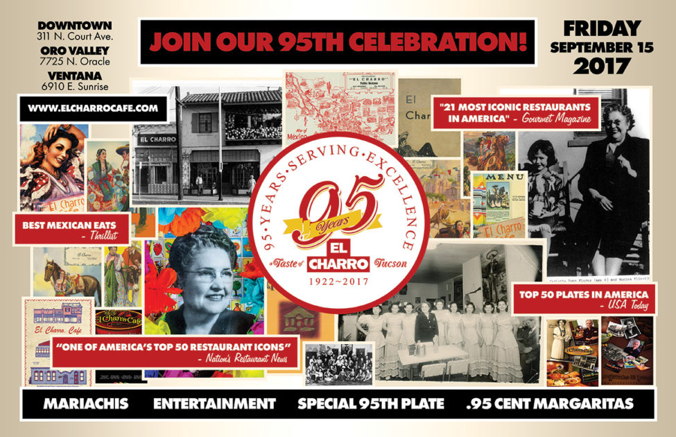 El Charro Café – 95th Celebration