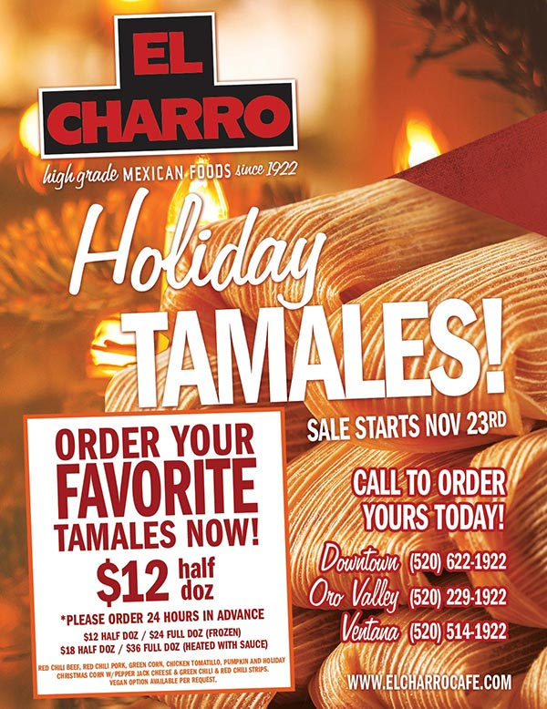 Order Your Favorite Tamales!