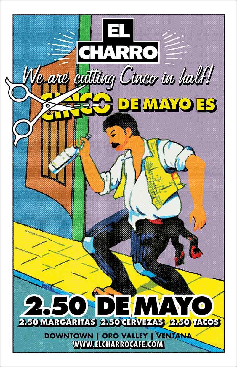 Cinco de Mayo at El Charro Café